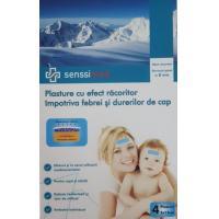 Plasturi cu efect de racire pentru copii si adulti impotriva febrei si durerilor de cap