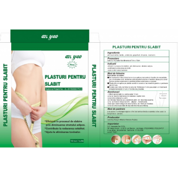 Plasture pentru slabit  16 gr NATURALIA DIET