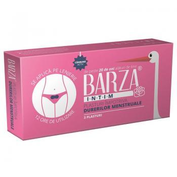 Plasturi impotriva durerilor menstruale  3 gr BARZA