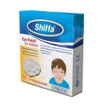 Plasturi sterili pentru ochii copiilor, shiffa 10 gr SANA EST
