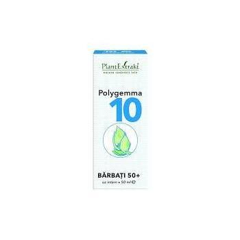 Polygemma 10 - barbati 50+ 50 ml PLANTEXTRAKT