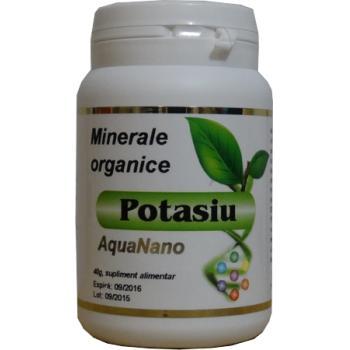 Potasiu organic 40 gr AQUANANO