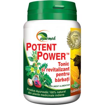 Potent power 50 tbl AYURMED