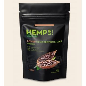 Power shake proteic de canepa si cacao eco 300 gr CANAH