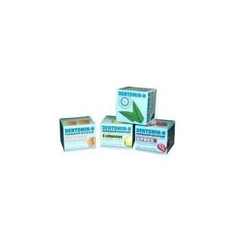 Praf de dinti dentomin h cu aroma de lamaie 25 gr HERBALSANA