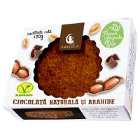 Prajitura vegana cu ciocolata si arahide