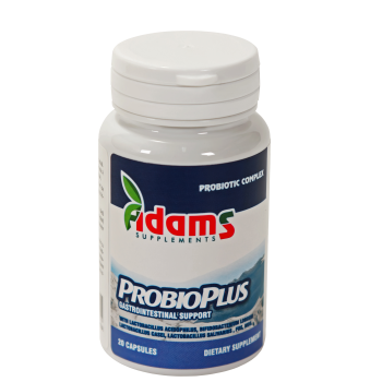Probioplus, complex probiotic 20 cps ADAMS SUPPLEMENTS