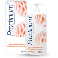 Proctinum gel hipoalergenic igiena ano-rectala ZDROVIT