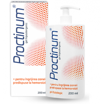 Proctinum gel hipoalergenic igiena ano-rectala 200 ml ZDROVIT