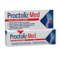 Proctoliz med crema antihemoroidala