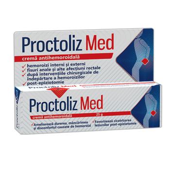 Proctoliz med crema antihemoroidala  25 ml FITERMAN