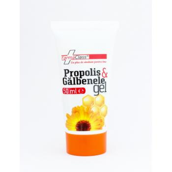 Propolis & galbenele gel 50 ml FARMACLASS