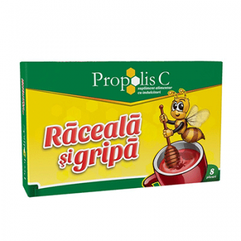 Propolis c raceala & gripa 8 pl FITERMAN