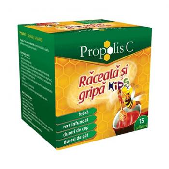 Propolis c raceala & gripa kids 15 pl FITERMAN