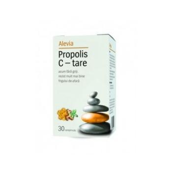Propolis c-tare 30 cpr ALEVIA