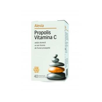 Propolis vitamina c 40 cpr ALEVIA