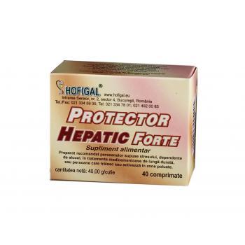 Protector hepatic forte 40 cpr HOFIGAL
