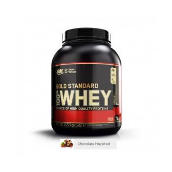 Proteina din zer on gold standard 100% whey chocolate hazelnut 2.2 gr OPTIMUM NUTRITION