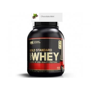 Proteina din zer on gold standard 100% whey chocolate mint 2.2 gr OPTIMUM NUTRITION