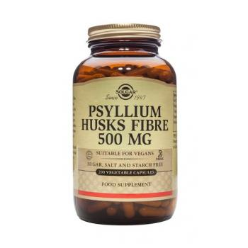 Psyllium husks fibre 500 mg 200 cps SOLGAR
