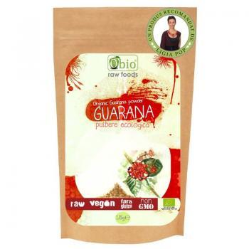 Pudra ecologica de guarana 125 gr OBIO