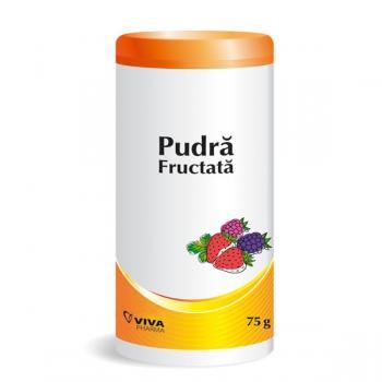 Pudra fructata 75 gr VIVA PHARMA
