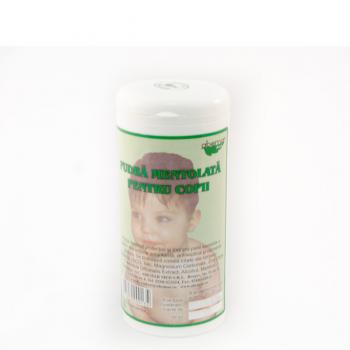 Pudra mentolata pentru copii 75 gr ABEMAR