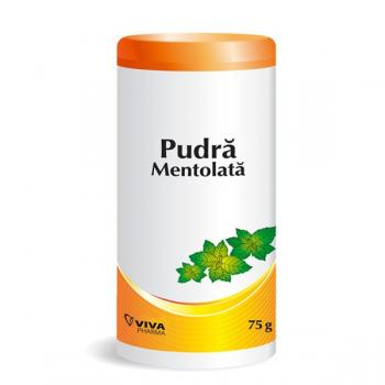 Pudra mentolata 75 gr VIVA PHARMA