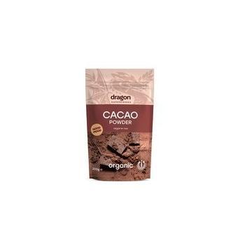 Pudra organica de cacao 200 gr DRAGON SUPERFOODS
