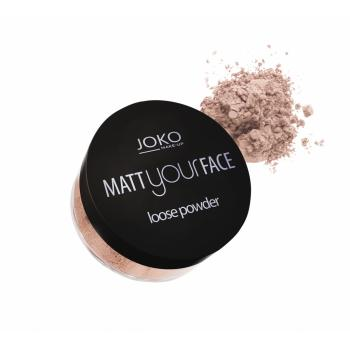 Pudra pulbere matt your face - dark beige (22) 23 gr JOKO
