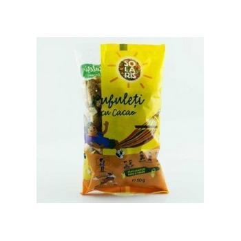 Pufuleti cu cacao 50 gr SOLARIS