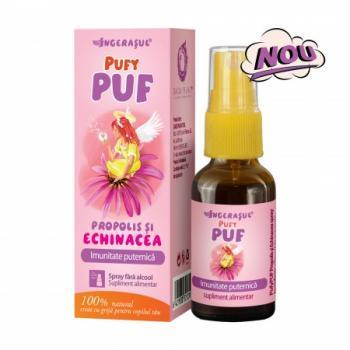 Pufy puf spray cu echinaceea si propolis fara alcool 20 ml INGERASUL