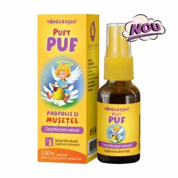 Pufy puf spray cu propolis si musetel fara alcool 20 ml INGERASUL