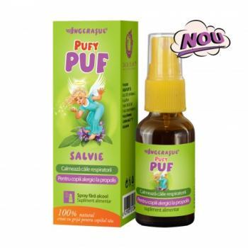 Pufy puf spray cu salvie fara alcool 20 ml INGERASUL
