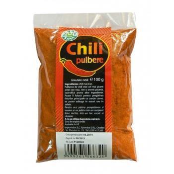 Pulbere de chili 100 gr HERBALSANA