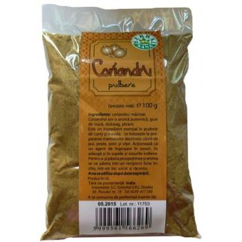 Pulbere de coriandru 100 gr HERBALSANA