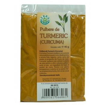Pulbere de turmeric 40 gr HERBALSANA