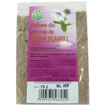 Pulbere din seminte de armurariu 40 gr HERBALSANA