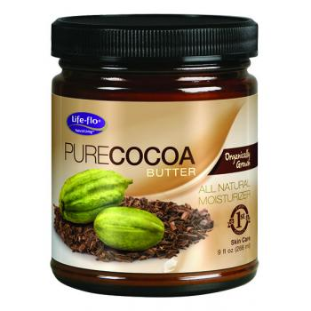 Pure cocoa butter 266 gr LIFE - FLO