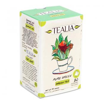 Ceai pure green  20 pl TEALIA