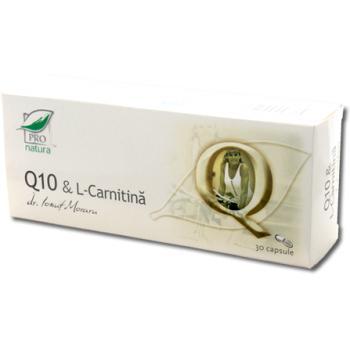 Q10 & l-carnitina 30 cps PRO NATURA