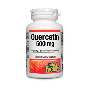QUERCETIN 500 mg 60 cps NATURAL FACTORS