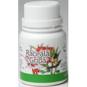 Raceala & gripa 25 cps PRO NATURA
