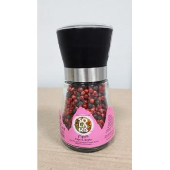 Rasnita reutilizabila-mix piper negru si rosu 70 gr SOLARIS