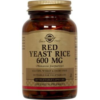 Red yeast rice 600 mg 60 cps SOLGAR