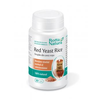 Drojdie din orez rosu 30 cps ROTTA NATURA
