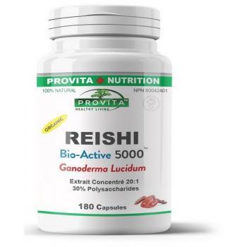 Reishi Bio-Active 5000 180 cps PROVITA
