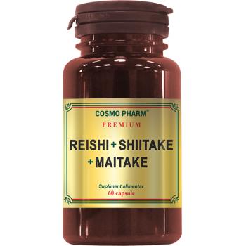 Reishi+ shiitake+ maitake 60 cps COSMOPHARM