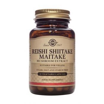 Reishi shiitake maitake mushroom extract 50 cps SOLGAR