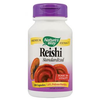 Reishi standardized 100 cps NATURES WAY